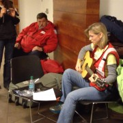 Debbie Liske Performs Original Song for American Red Cross Hurricane Sandy Bulk Distribution
