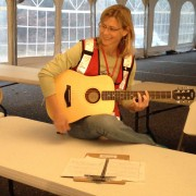 "Debbie performs ""Team Bohemia"" for American Red Cross"