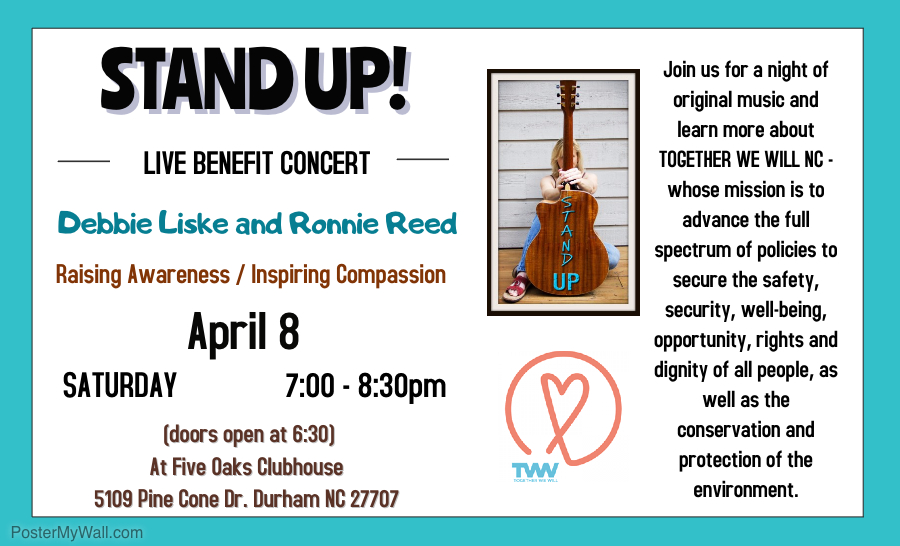 STAND UP Concert Flyer1
